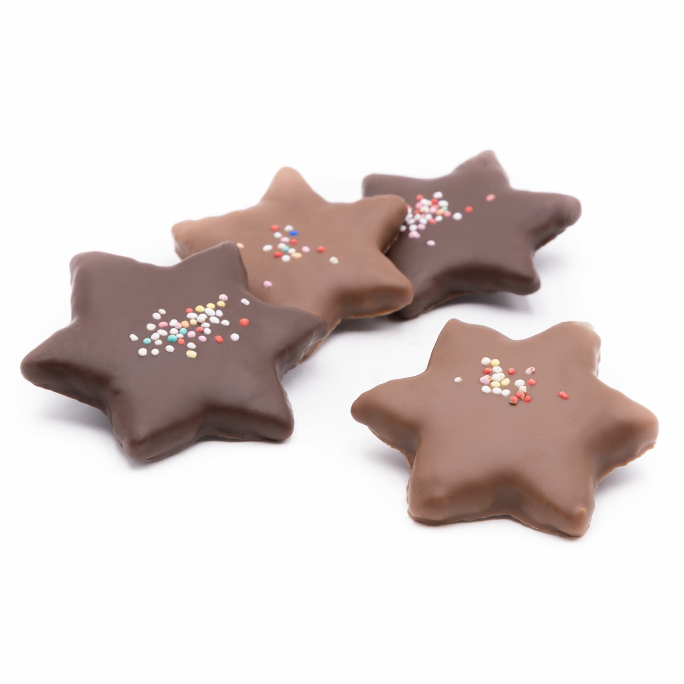 chocolate stars - dipped in chocolate
